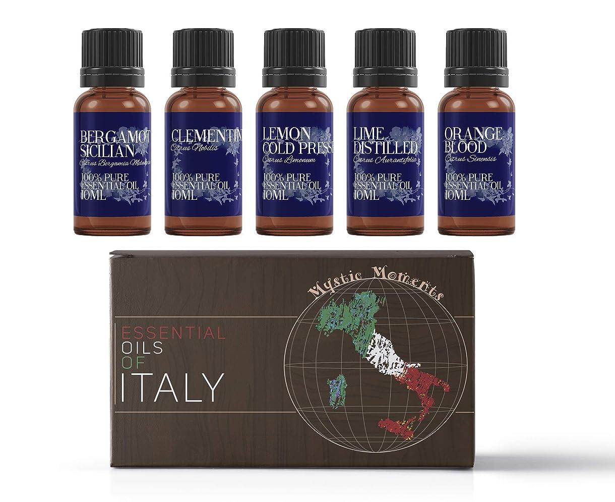 アダルト放射能集団的Mystic Moments | Gift Starter Pack of 5 x 10ml - Essential Oils Of Italy