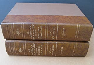 An American Dictionary of the English Language, 2 volume set. Facsimile of Noah Webster's Original 1828 Edition