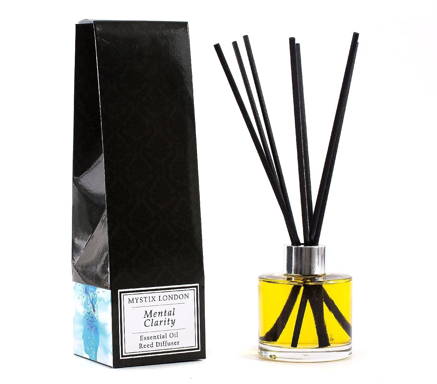 爆発地中海スリップシューズMystix London   Mental Clarity - Essential Oil Reed Diffuser - 100ml