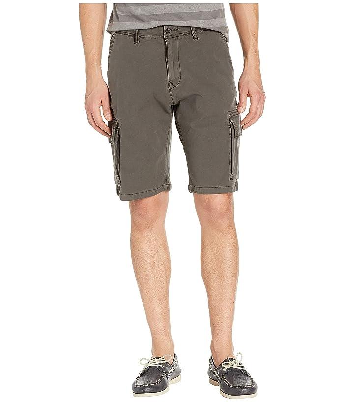Lucky Brand Cargo Shorts (Raven) Men