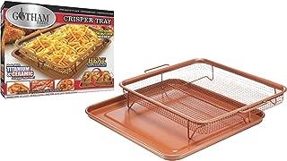 Gotham Steel Nonstick Copper Crisper Tray, Medium 2-Pack