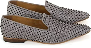 Anna Ricci Woven Leather Highly Embellished Shoe