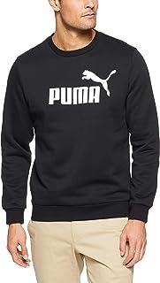 PUMA Men's ESS Logo Crew Sweat FL Big Logo
