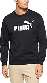 PUMA Men's ESS Logo Crew Sweat FL Big Logo