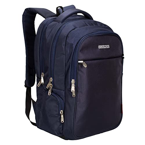 912a61446e Cosmus Atomic Dx 3 Compartment Large Laptop Bag - Navy Blue Polyester  Waterproof Laptop Backpack