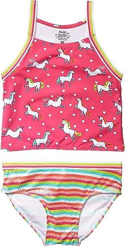 Prancing Unicorns Tankini Set (Toddler/Little Kids/Big Kids)