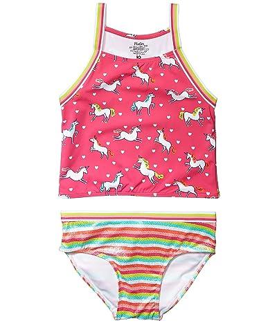 Hatley Kids Prancing Unicorns Tankini Set (Toddler/Little Kids/Big Kids) (Pink) Girl