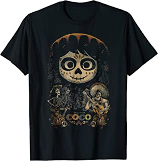 Disney Pixar Coco Miguel & Musical Scene Graphic T-Shirt