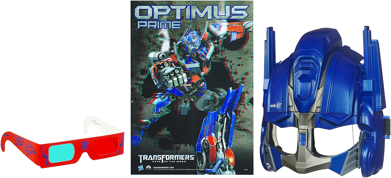 Transformers  Dark of the Moon Robo Power CineMask Optimus Prime