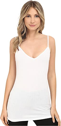 HEATHER - Rib Bubble V-Cami Top