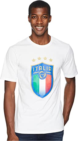 FIGC Italia Badge Tee