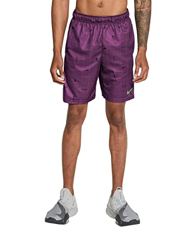 Nike Dry Shorts All Over Print SP (Viotech/Mean Green) Men