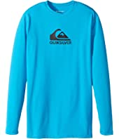 Quiksilver Kids - Solid Streak Long Sleeve Rashguard (Big Kids)