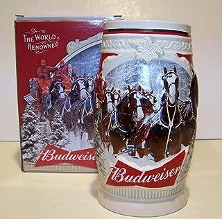 2015 Budweiser Holiday Stein