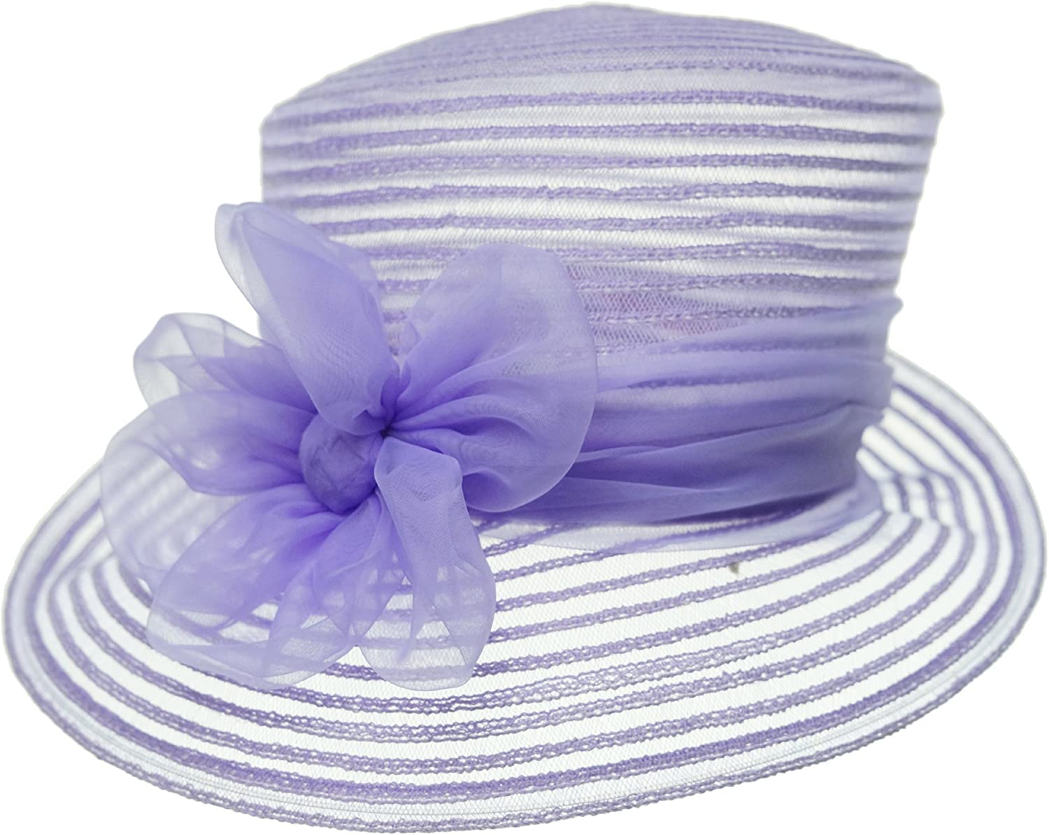 Giovannio Bow Accented Derby Hat