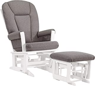 Dutailier Modern 0350 Glider Chair with Ottoman Included
