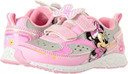 Josmo Kids - Minnie Double H&L Lighted Sneaker (Toddler/Little Kid)