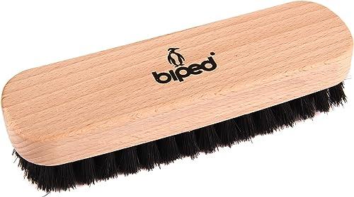 biped Brosse à chaussures en bois de hêtre avec des soies naturelles – pour le nettoyage ou le poli – z2345