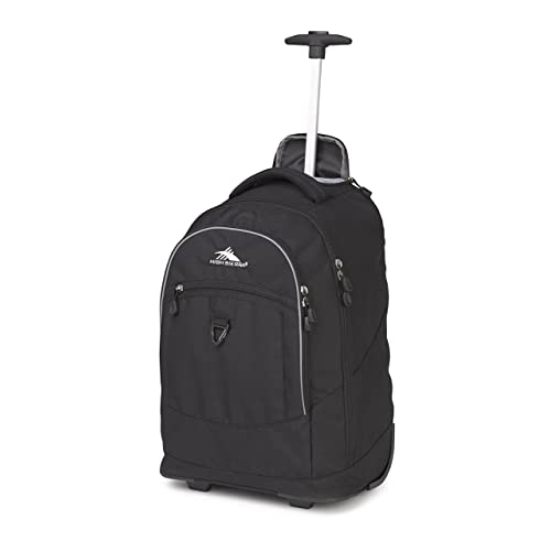 f3f6e86a7 High Sierra Chaser Wheeled Laptop Backpack, Great for High School, College  Backpack, Rolling