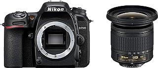 Nikon D7500 Digital SLR im DX Format mit Nikon AF S DX 10 20mm 1:4,5–5,6G VR (20,9 MP, EXPEED 5 Prozessor, AF System mit 51 Messfeldern, ISO 100 51.200, 4K UHD Video incl. Zeitraffer Video)