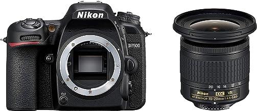 Nikon D7500 Digital SLR im DX Format mit Nikon AF-S DX 10-20mm 1:4,5–5,6G VR (20,9 MP, EXPEED 5 Prozessor, AF-System mit 51 Messfeldern, ISO 100-51.200, 4K UHD Video incl. Zeitraffer Video)