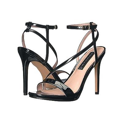 Steven Rees (Black Patent) High Heels