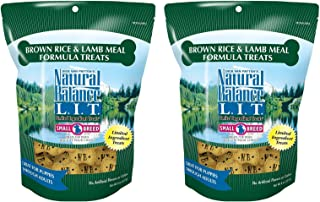 Natural Balance L.I.T. Limited Ingredient Treats Brown Rice & Lamb Meal 8 ounce (pack of 2)