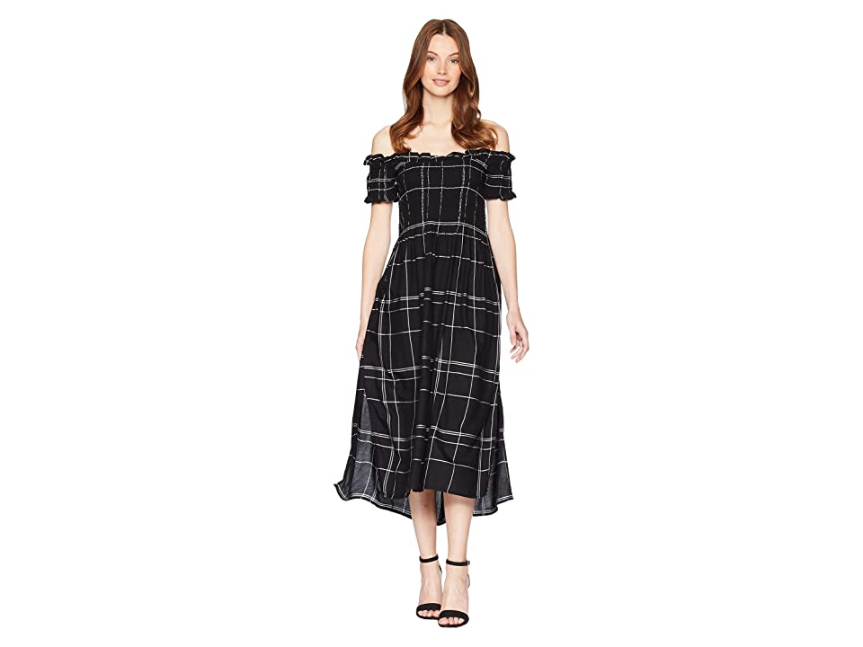 Bardot Cindy Dress (Navy Check) Women
