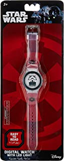 Lucas Star Wars Boys Digital Dial with LED Strap Light Wristwatch - SA7210 Star Wars B