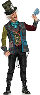 Leg Avenue Men's Mad Hatter Wonderland Costume