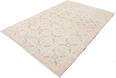 Amazon Com Rivet Modern Geometric Wool Area Rug 4 X 6