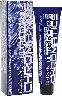Redken Chromatics Ultra Rich Hair Color for Unisex, 4G (4.3)/Gold, 2 Ounce