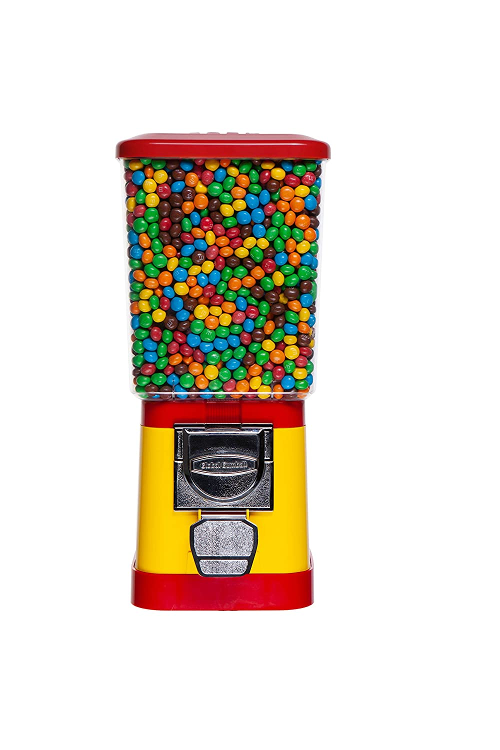 Candy Dispenser - Home Vending Max 62% OFF Red and Machine Yellow Boston Mall Ve