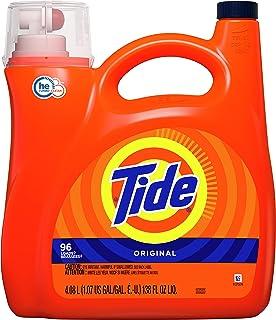 Tide Original Liquid Laundry Detergent, 96 Loads, 4.08 Liters