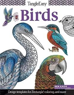 TangleEasy Birds: Design Templates for Zentangle (R), Coloring, and More (Design Originals)