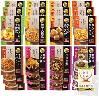 イチビキ レトルト 惣菜 おふくろの味 24食 詰め合わせ 国産乾燥野菜 セット