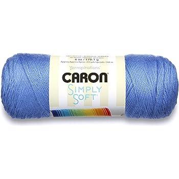 Berry Blue 1 Ball 6 oz Caron Simply Soft Brites Yarn