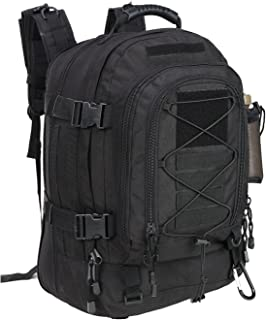 PANS Backpack Military Expandable Travel Backpack Tactical Waterproof Work Backpack for Men