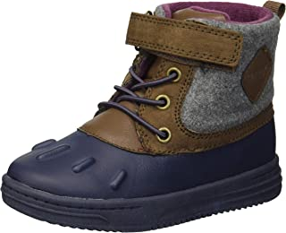 Carter's Kids Boy's Bay2-b Navy Duck Boot Fashion