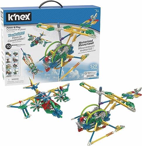 K'Nex KN23012 - Power and Play 50 Model Motorized Set