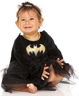 DC Comics Supergirl Batgirl Infant Baby Girls Costume Dress - Superhero Costumes for Girls
