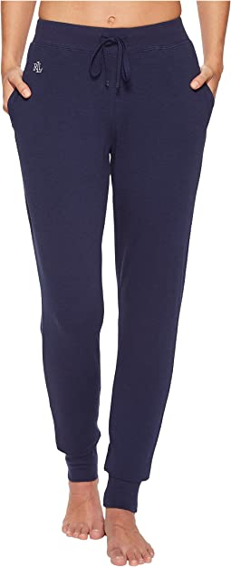 LAUREN Ralph Lauren Long Sleeve French Terry Jogger Pants