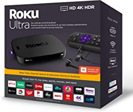Roku Ultra | Streaming Media Player 4K/HD/HDR with...