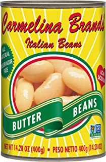 Carmelina Brands Italian Bianchi di Spagna (Butter Beans), 14.28 ounce (Pack of 12)