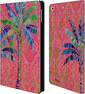 Official Paul Brent Paradise Palm Tropical Leather Book Wallet Case Cover Compatible for iPad Mini 4