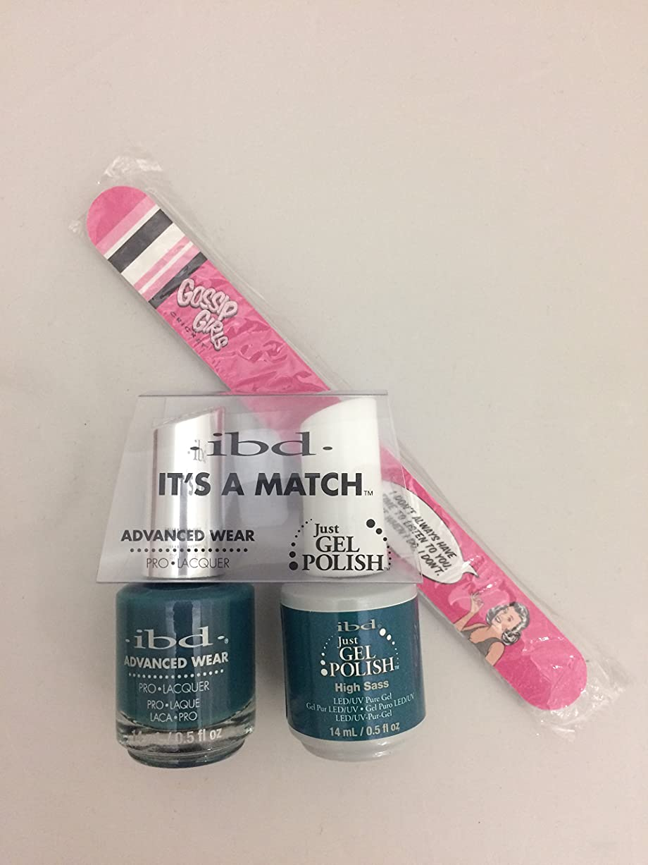 契約した実施するチチカカ湖ibd - It's A Match -Duo Pack- Imperial Affairs Collection - High Sass - 14 mL / 0.5 oz Each
