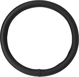 Amazon Brand - Solimo Steering Cover (Large), Black