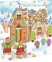 Amscan Giant Christmas Gingerbread Sweet House Candy Holiday Hansel And Gretel Fairytale Vinyl Scene Setter School