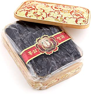 Sponsored Ad - Korean Honey Red Ginseng Whole Roots, 900g(2lb) X 1 Box with Wrapping Cloth for Gift, Saponin, Panax