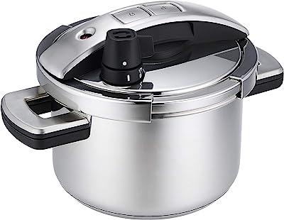 マイヤー(Meyer) 圧力鍋 「ハイプレッシャークッカー 4.0L」 ステンレス 全熱源対応 圧力鍋 【国内正規品】 YR-PC4.0